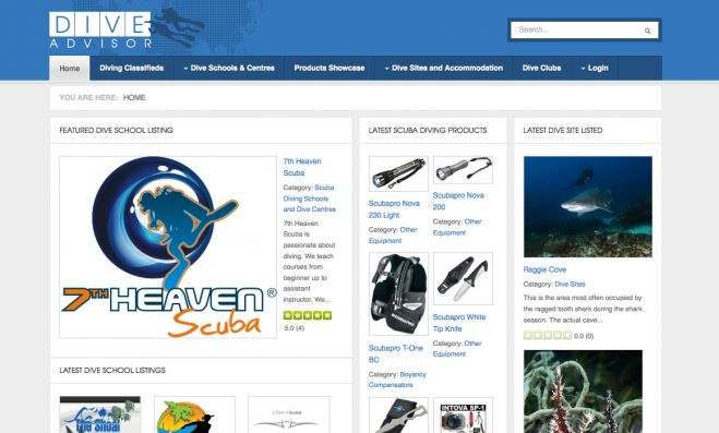 DiveAdvisor.co.za: SA's leading scuba training directory