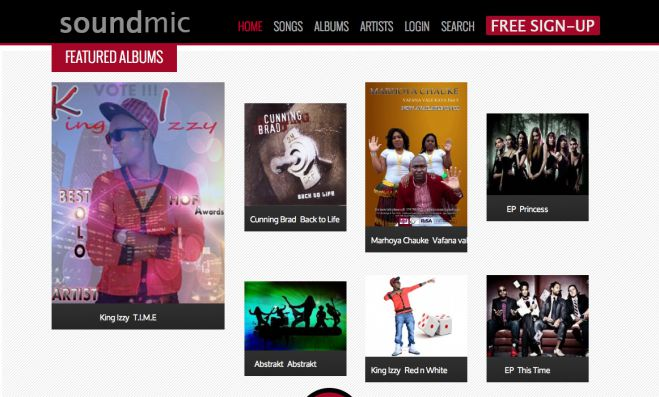 SoundMic: Music and Artist Promotion Website